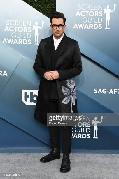 Dan Levy attends the 26th Annual Screen ActorsGuild Awards at The Shrine Auditorium on January 19 2020 in Los Angeles California