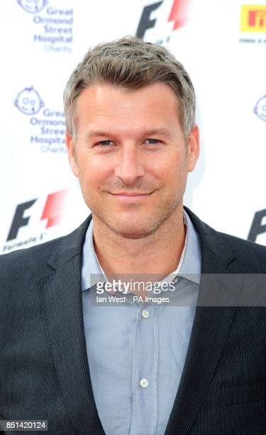 Dan Lobb arrives at the F1 Party in aid of Great Ormond Street Hospital Children's charity The party marks the official launch of the Formula 1...