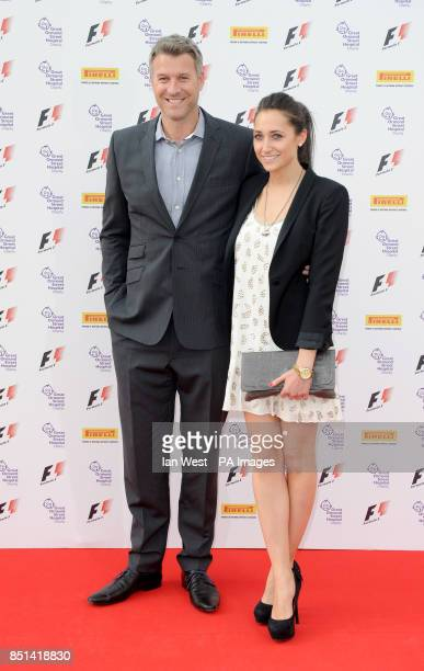 Dan Lobb arriving at the F1 Party in aid of Great Ormond Street Hospital Children's charity The party marks the official launch of the Formula 1...