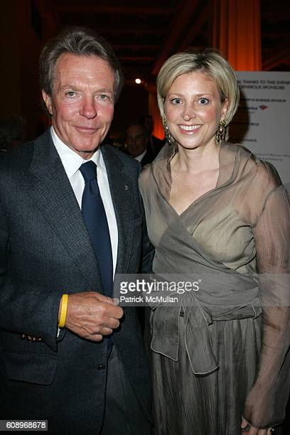 Dan Lufkin and Cynthia Lufkin attend CONSERVATION INTERNATIONAL 10th Annual New York Dinner at Museum of Natural History on May 17 2007 in New York...