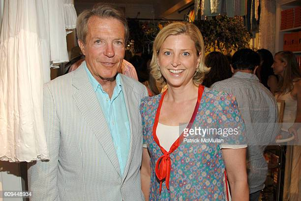 Dan Lufkin and Cynthia Lufkin attend VOGUE and RALPH LAUREN Celebrate THE MANNY Book Launch at Ralph Lauren Store on June 30 2007 in Easthampton NY