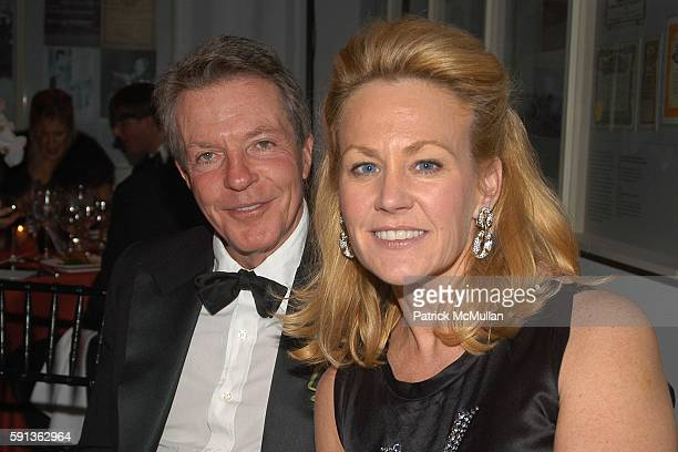 Dan Lufkin and Muffie Potter Aston attend The Director's Council of the Museum of the City of New York Winter Ball Sponsored by Yves Saint Laurent at...