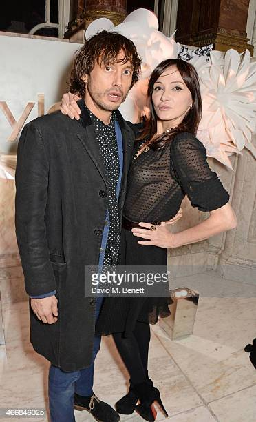 Dan Macmillan and Annabelle Neilson attend the InStyle Best of British Talent party in celebration of BAFTA in association with Lancome and Sky...