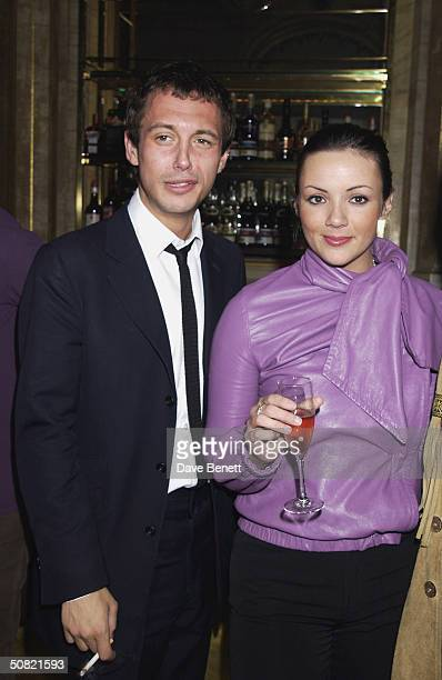 Dan Macmillan and Martine McCutcheon attend the MAC Cosmetics Charity Party to support Aids in London in honour of Mary J Blige at The Criterion...