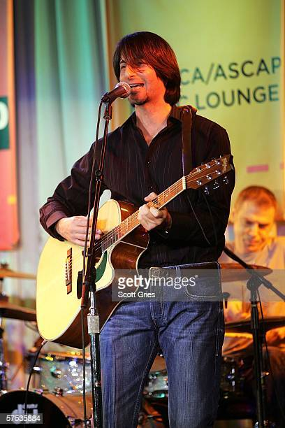 Dan Manjovi performs at the Tribeca/ASCAP Music Lounge at the Canal Room May 4 2006 in New York City