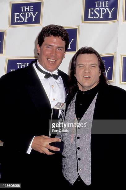 Dan Marino and Meat Loaf during 1995 ESPY Awards at Radio City Music Hall in New York City New York United States