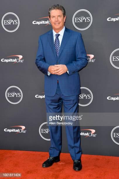 Dan Marino attends The 2018 ESPYS at Microsoft Theater on July 18 2018 in Los Angeles California