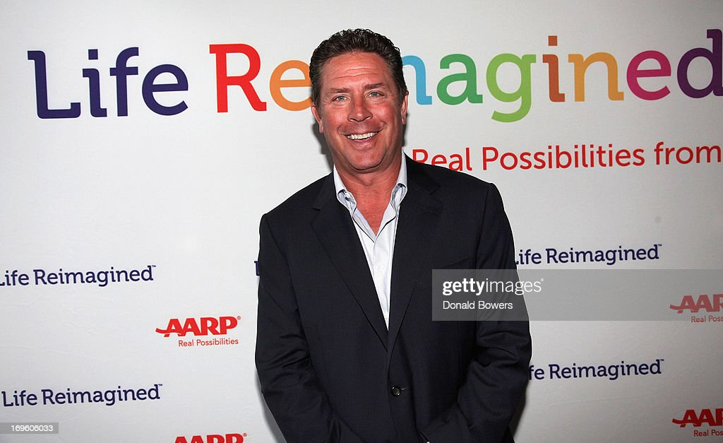 Dan Marino attends The Launch of AARP's 'Life Reimagined' hosted by Emilio Estefan and Dan Marino at La Bottega Trattoria at The Maritime Hotel on May 28, 2013 in New York City.