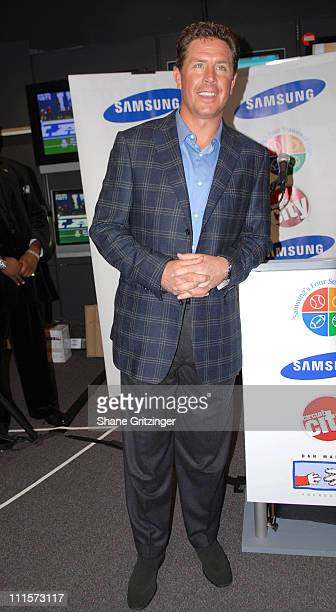 Dan Marino during Get In The Game Of Giving Dan Marino Foundation In Store Apperance December 5 2006 at Circuit City in New York City New York United...