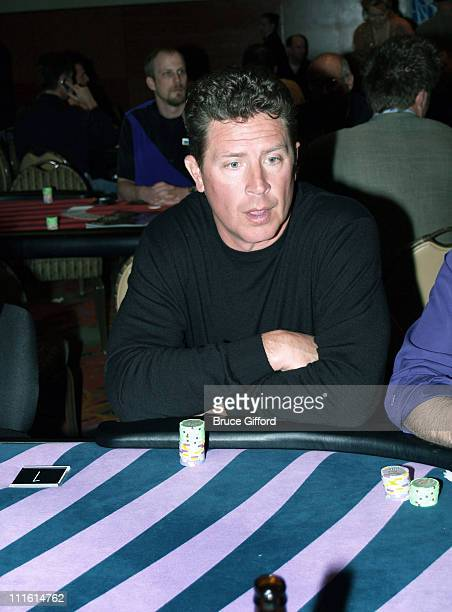 Dan Marino during Legends Celebrity Invitational Charity Poker Tournament Inside at The Palms Casino Resort in Las Vegas Nevada United States