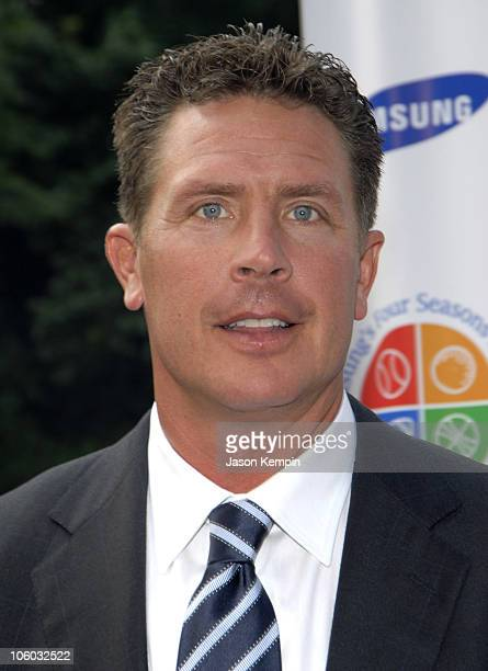 Dan Marino during Samsung's Four Seasons Of Hope Benefit June 22 2006 at Tavern On The Green in New York City New York United States