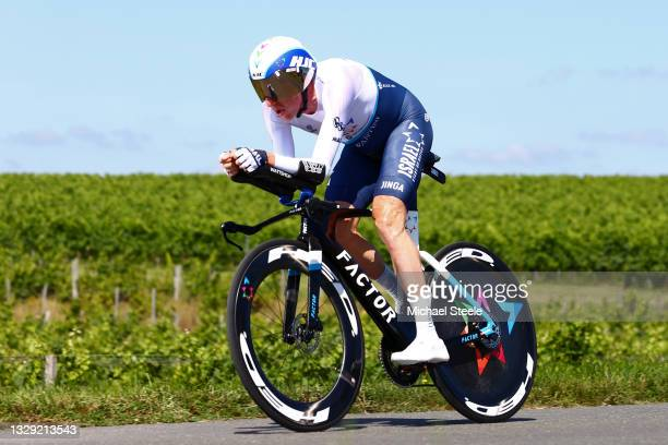 Dan Martin of Ireland and Team Israel Start-Up Nation during the 108th Tour de France 2021, Stage 20 a 30,8km Individual Time Trial Stage from...