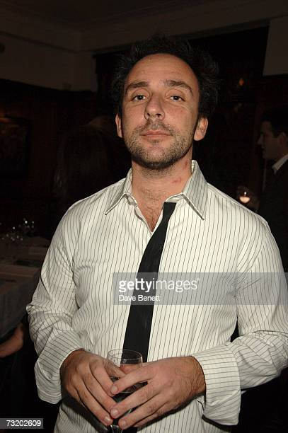 Dan Mazer attends the Evening Standard British Film Awards 2007 dinner at the Ivy on February 4 2007 in London England