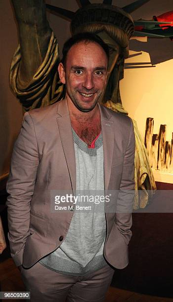 Dan Mazer attends the London Evening Standard British Film Awards 2010 at The London Film Museum on February 8 2010 in London England