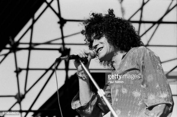 Dan McCafferty of Nazareth performing at Summerfest in Milwaukee Wisconsin May 26 1978