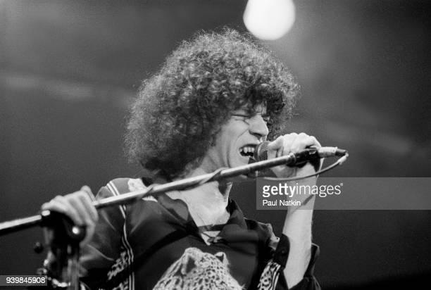Dan McCafferty of Nazareth performing at the Aragon Ballroom In Chicago Illinois March 17 1978