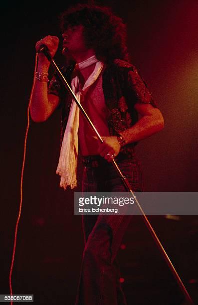 Dan McCafferty of Nazareth performs on stage Brighton 1975