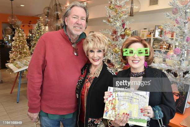 Dan McGrath Karen Sharpe and Kat Kramer attend the MaddoxTomlin Book Signing At Just Fabulous Palm Springs at Just Fabulous on December 15 2019 in...
