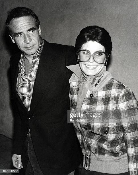 Dan Melnick and Tina Sinatra during Dan Melnick and Tina Sinatra Sighting at Palm Springs in California February 14 1977 at Palm Restaurant in Palm...