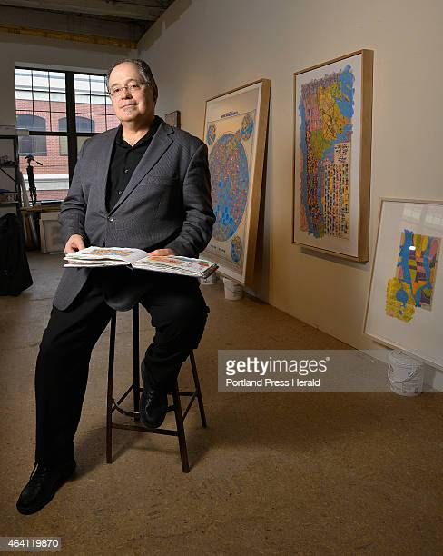 LEWISTON ME FEBRUARY 17 2015 Dan Mills director of the Bates College Museum of Art What many people may not know is that Mills also has an active...