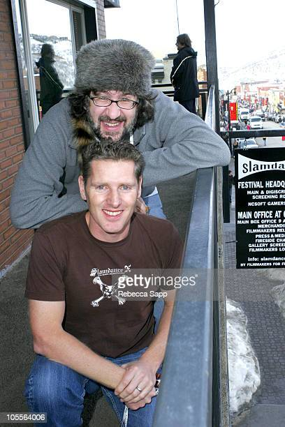 Dan Mirvish, co-founder of Slamdance, and Peter Baxter, president/co-CEO of Slamdance