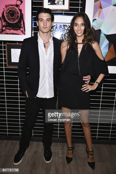 Dan O'Brien and Abigail Holder attend PMA with KANTRR Labs and Pierce Capital Entertainment host the Wrap Party of 'Tu Me Manques' Sponsored by...
