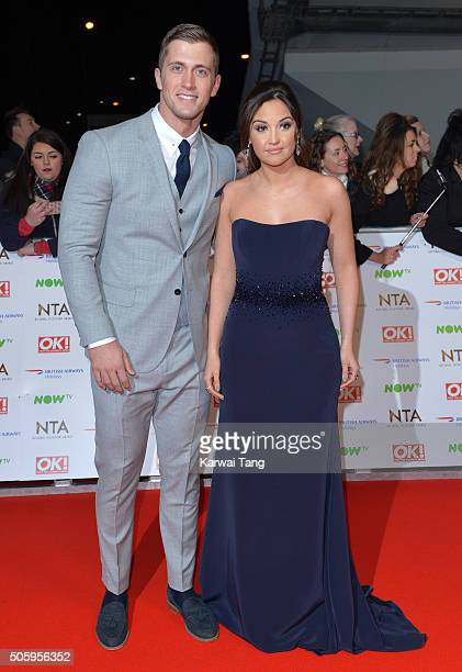 Dan Osborne and Jacqueline Jossa attend the 21st National Television Awards at The O2 Arena on January 20 2016 in London England