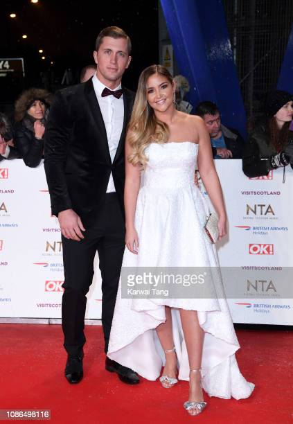 Dan Osborne and Jacqueline Jossa attend the National Television Awards held at The O2 Arena on January 22 2019 in London England