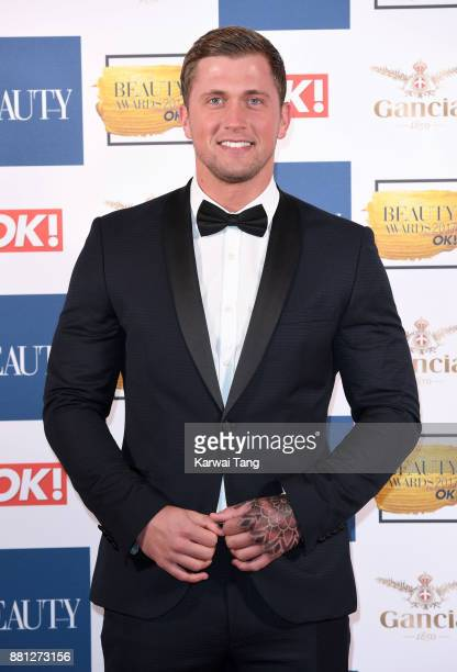 Dan Osborne attends The Beauty Awards at Tower of London on November 28 2017 in London England