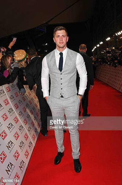 Dan Osborne attends the National Television Awards on January 25 2017 in London United Kingdom