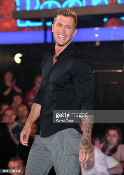 Dan Osborne is evicted and placed third during the Celebrity Big Brother final 2018 at Elstree Studios on September 10 2018 in Borehamwood England
