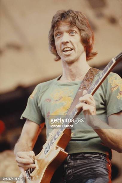 Dan Peek performing with AngloAmerican folk rock band America June 1979