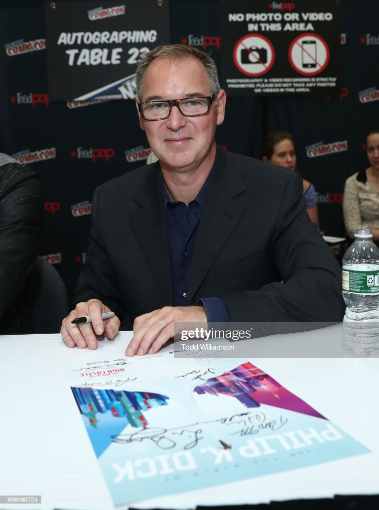 Dan Percival attends 'The World of Philip K. Dick' - The Man in the High Castle and Philip K. Dick's Electric Dreams Autograph Signing at The Jacob K. Javits Convention Center on October 6, 2017 in New York City.