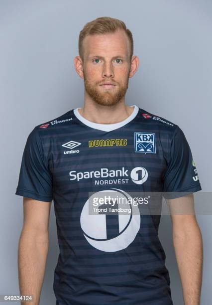 Dan Peter Ulvestad of Team Kristiansund BK on March 7 2017 in Kristiansund Norway