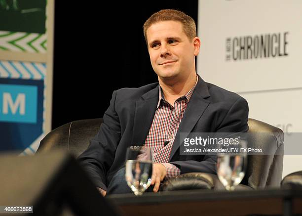 Dan Pfeiffer Senior Advisor The White House speaks onstage at 'Breaking The News In The Age Of Snapchat' during the 2015 SXSW Music Film Interactive...