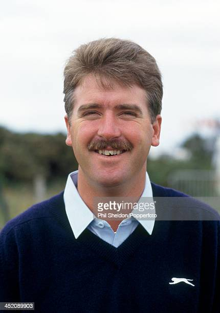 Dan Pohl of the United States during the British Open Golf Championship held at the Turnberry Golf Resort Scotland circa July 1986