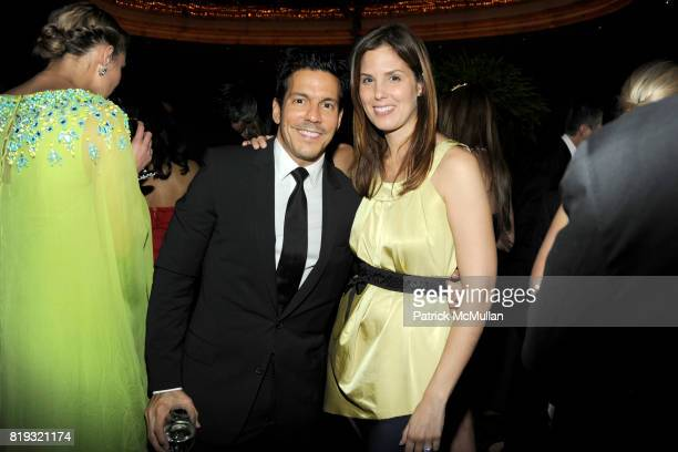 Dan Ragone and Melissa Skoog attend NEW YORKERS FOR CHILDREN Spring Dinner Dance Presented by AKRIS at The Mandarin Oriental on April 8 2010 in New...