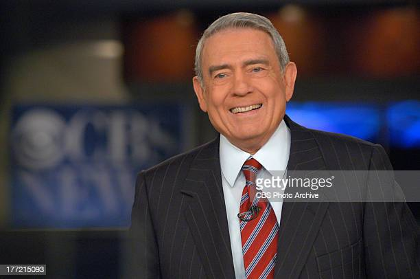 Dan Rather anchors his last CBS EVENING NEWS broadcast from