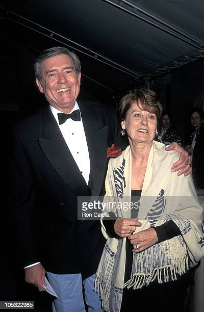 Dan Rather and Jean Rather during 3rd Great Party to Save the Nature Conservancy Benefit at Central Park in New York City New York United States