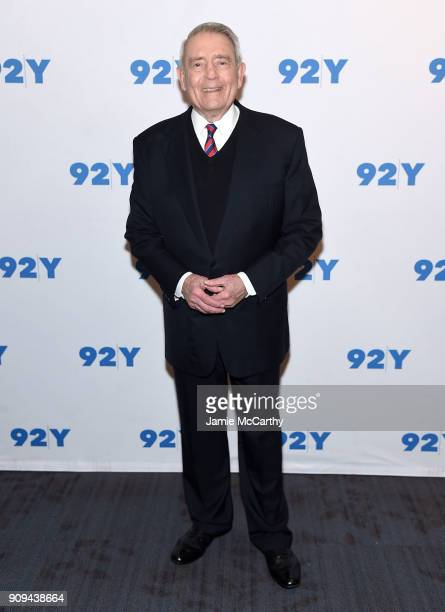Dan Rather attends the 92nd Street Y Presents Dan Rather Discussing His New Book 'What Unites Us' at 92nd Street Y on January 23 2018 in New York City
