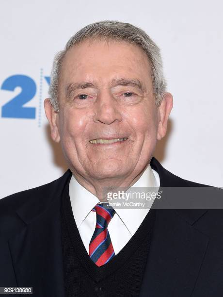Dan Rather attends the 92nd Street Y Presents Dan Rather Discussing His New Book What Unites Us at 92nd Street Y on January 23 2018 in New York City