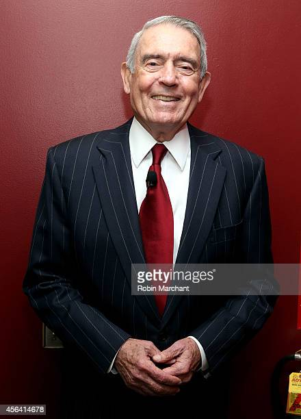 Dan Rather attends The Newsmen Changing Dynamics of Media Tech and Journalism panel during AWXI on September 30 2014 in New York City