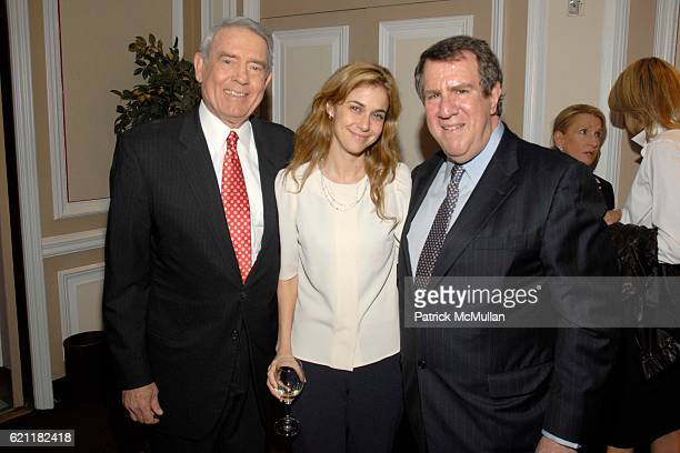 Dan Rather Bara Tisch and Andrew Tisch attend Ann And Andrew Tisch Invite You To Join Them In Marketing The Publication BREATHING THE FIRE By...