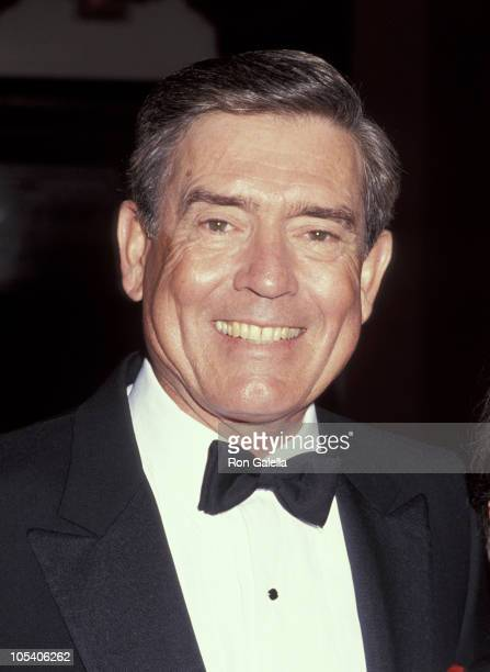 Dan Rather during 1991 National News And Documentary Emmy Awards at The Plaza Hotel in New York City New York United States