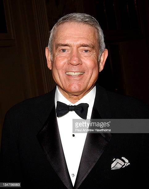 Dan Rather during International Radio and Television Society Foundation 2004 Gold Medal Dinner at Waldorf Astoria in New York City New York United...