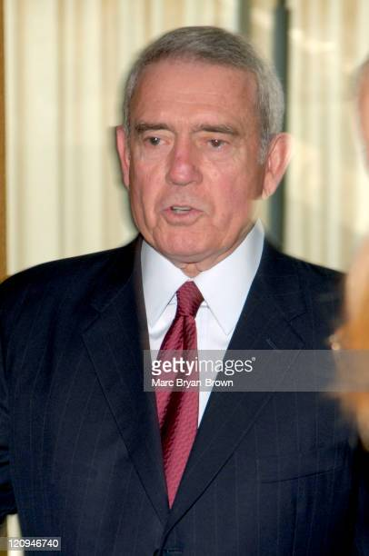Dan Rather speaks at Fordham University during A Conversation with Dan Rather and Sheila Nevins in New York New York United States