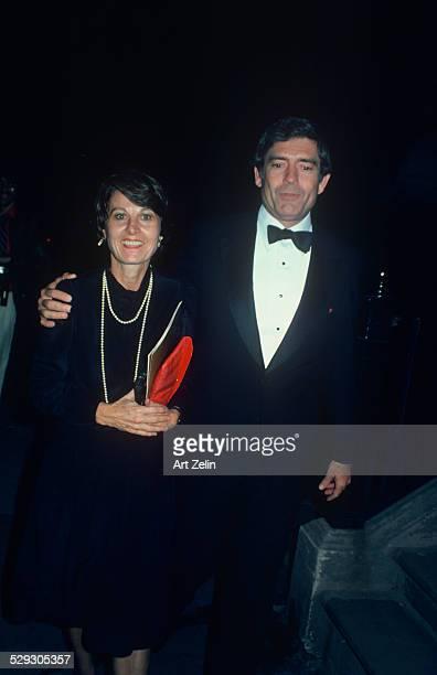 Dan Rather with his wife Jean Goebel circa 1970 New York