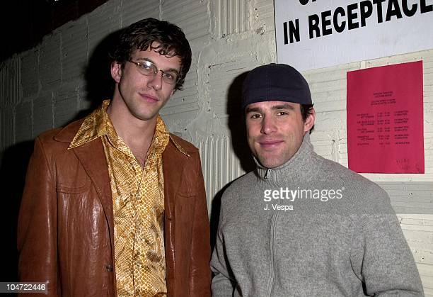 Dan Renzi and Jamie Murray during The Real World Reunion Tour at Beacon Theatre in New York City New York United States