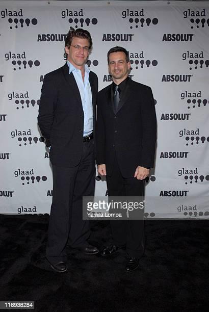 Dan Renzi and Neil Giuliano during 17th Annual GLAAD Media Awards at The Ritz Carlton Hotel South Beach in Miami Beach Florida United States