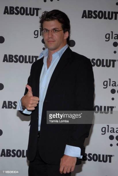 Dan Renzi during 17th Annual GLAAD Media Awards at The Ritz Carlton Hotel South Beach in Miami Beach Florida United States